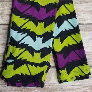 LuLaRoe Kids S/M Bat Leggings